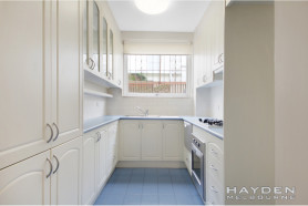 Spacious two bedroom apartment with a private court yard!